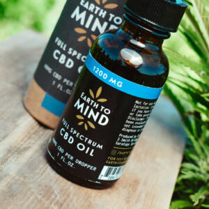 Earth To Mind 1200mg CBD Bottle