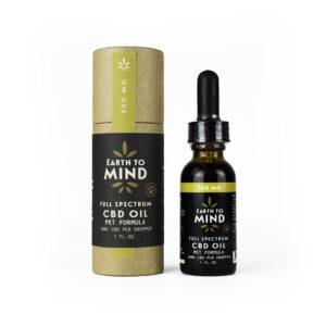 Earth To Mind 300 mg CBD oil