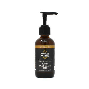 Earth To Mind Organic CBD massage oil